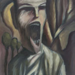 The Scream Revisited 9x12 by Michael Farmer