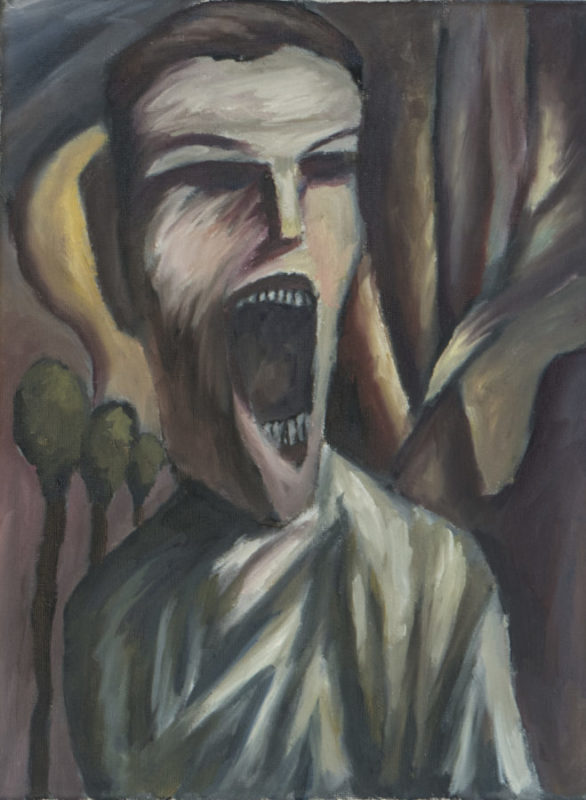 The Scream Revisited 9x12