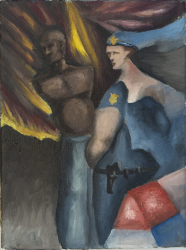 The Officer and the Unarmed Gentleman 9x12
