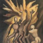 A Man's Reach Exceeding His Grasp 16x20 by Michael Farmer